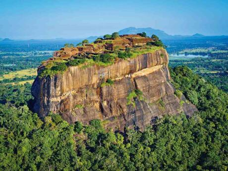 Join a tour from Kandy to see the Sigirya rock