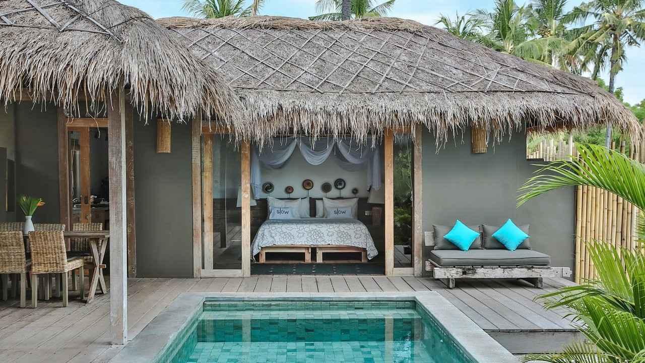 Slow Private Villa on Gili Air é um refúgio paradisíaco para casais gays