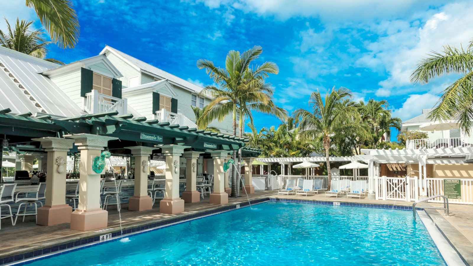 World's top gay resort, island house, is right here in key west