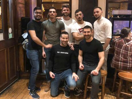 The Molly House is a fun gay bar in Manchester that also serves a yummy Spanish-inspired menu
