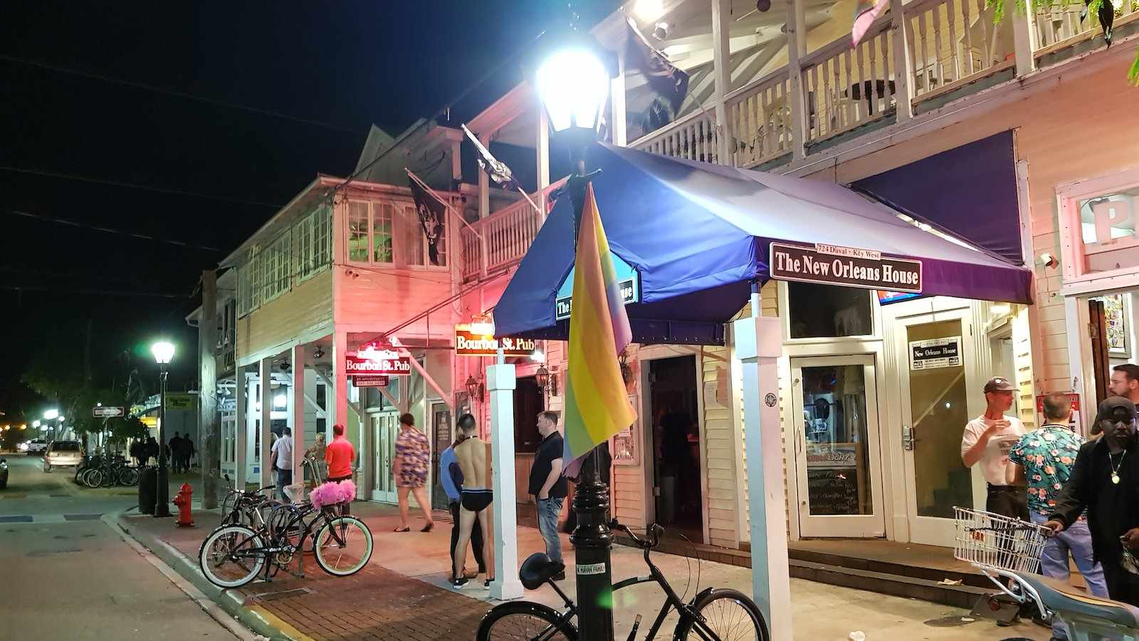 If you want to be in the heart of the action, The New Orleans House is right on the main gay street in Key West