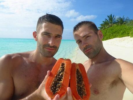 As you might imagine, the Maldives is a wonderful spot to eat lots of delicious fresh tropical fruits!