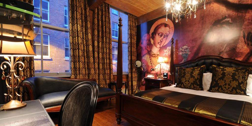 The Velvet Hotel é um lindo hotel boutique em Manchester que é popular entre casais gays