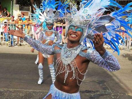 Barranquilla is famous for its festival and beautiful gay men