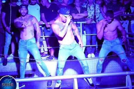 Sagitario is a gay club in Lima with dance shows and a sauna for some hot time