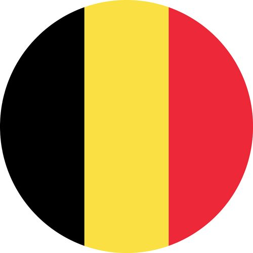The flag of Belgium, a country which hosts some of the best gay parties in the world