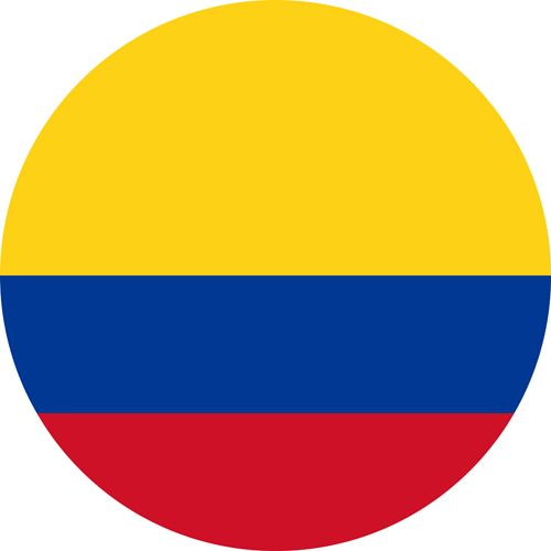 The flag of Colombia, one of the most gay friendly places in Latin America