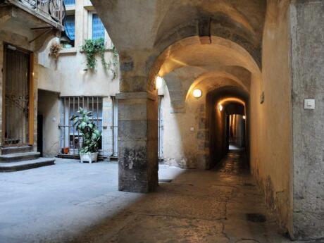 As traboules de Lyon são uma característica arquitetônica exclusiva da cidade e fascinante para explorar