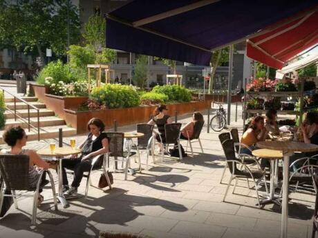 Drole de zebre é um café peculiar em Lyon