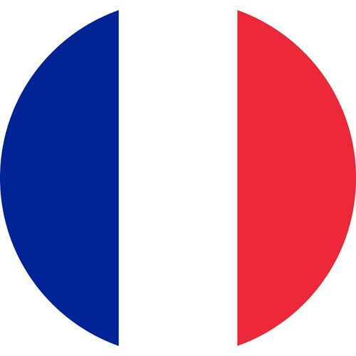 The flag of France, a country which has a long history of laissez faire towards the LGBT community