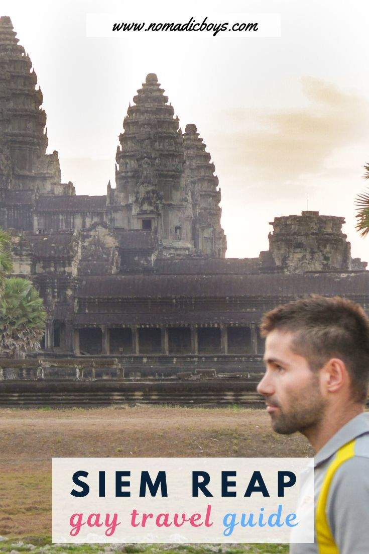 Check out our gay guide to Siem Reap with everything gay travellers need to know about visiting Angkor Wat
