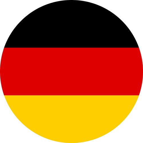 The flag of germany, a country which has a long LGBTQ history