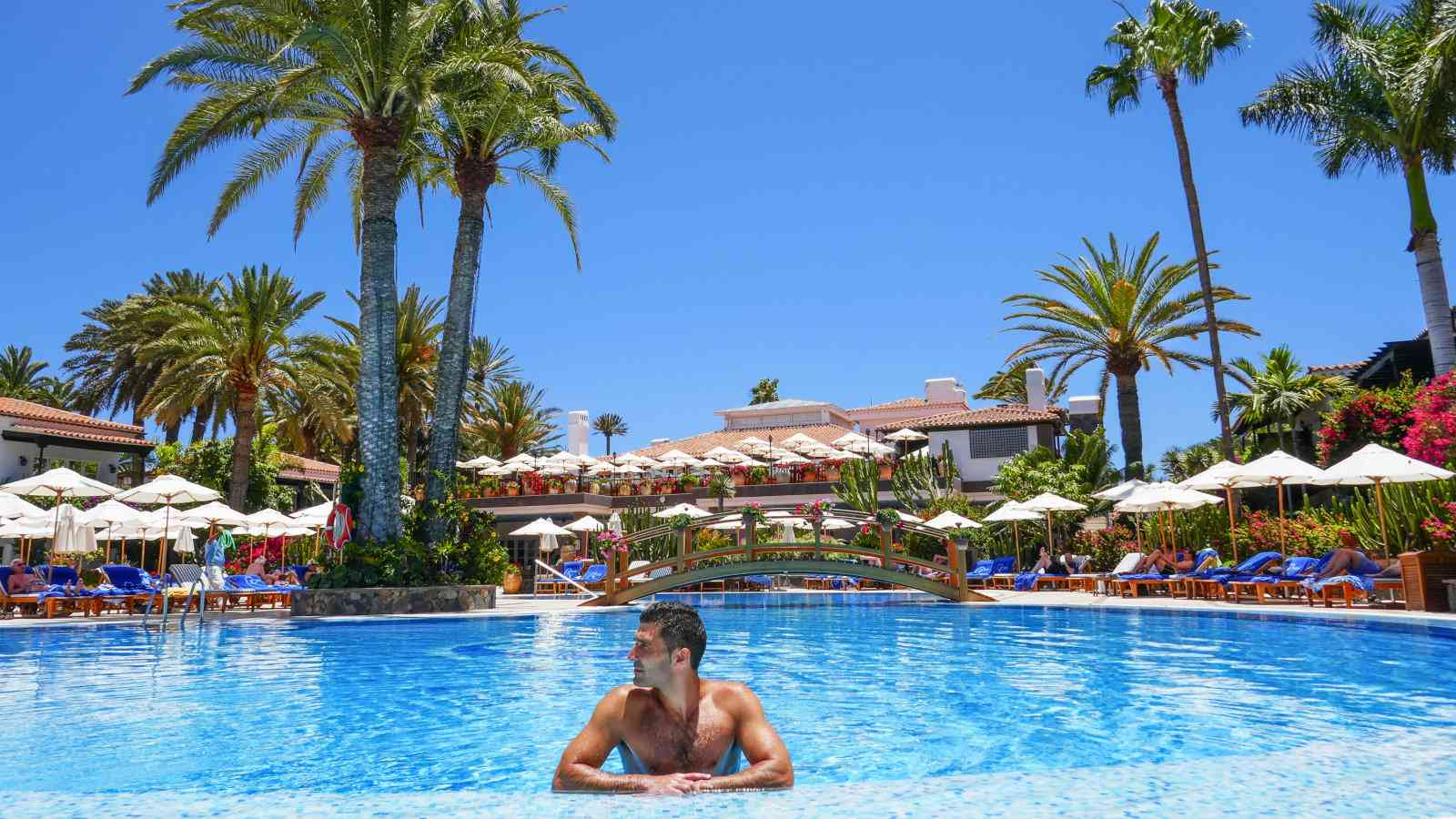 The Seaside Hotel Residencia is a truly grand place to stay in Gran Canaria which is very gay friendly as well
