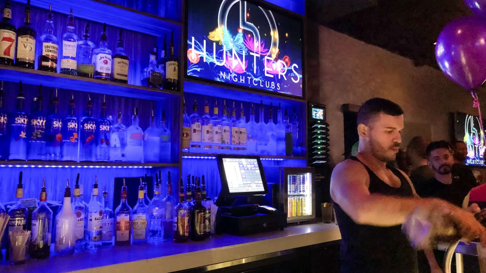 Hunters is the main gay club in Fort Lauderdale, with lots of fun events from karaoke to bear nights