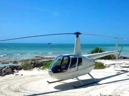Veja Key West de uma perspectiva emocionante, fazendo um voo panorâmico de helicóptero acima