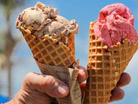 For the best ice-cream (and chocolates and other sweet treats) in Sarasota, go to Kilwin's!