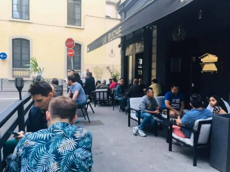 La Ruche is Lyon's oldest and most famous gay bar with the best outdoor terrace vibe in the whole city
