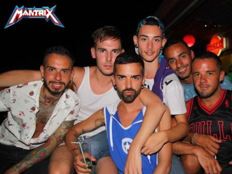 Mantrix is the main gay club in Gran Canaria and it is pumping on the weekend!