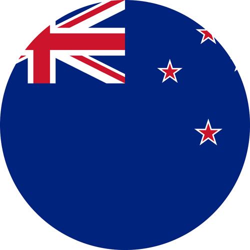 The Kiwi flag, very similar to the Australian flag