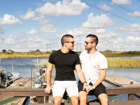 Gay travellers to Fort Lauderdale are ideally situated to explore the Everglades and see wild alligators!