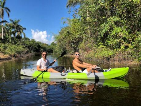 The Hugh Taylor Birch State Park in Fort Lauderdale is a wonderful spot to escape the busy city and enjoy nature by kayaking, swimming, picnicking and more