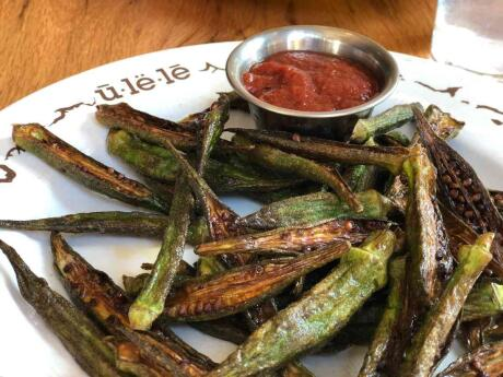 Ulele is a famous restaurant in Tampa that celebrates the fusion of ingredients from Florida waters (lots of fresh fish!) and land once home to many Native Americans