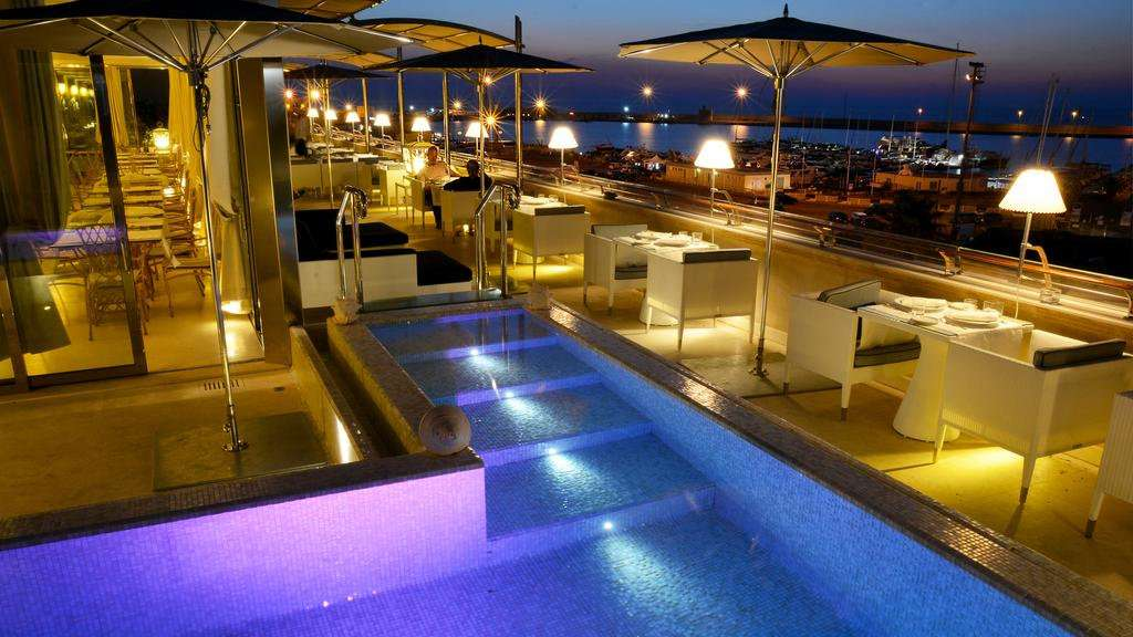 Palazzo del Corso is a stunning luxury hotel in Gallipoli with a fabulous rooftop swimming pool and restaurant