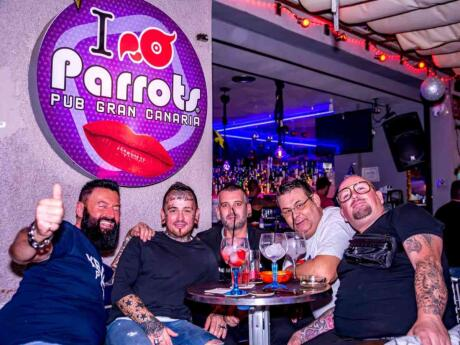 Parrots is a gay institution in Sitges which has also opened it's doors in Gran Canaria