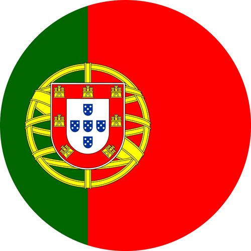 The flag of Portugal, a country we love going back to