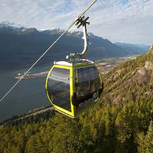 Riding the Sea to Sky Gondola is a fun way to visit Whistler from Vancouver with stunning views as you go