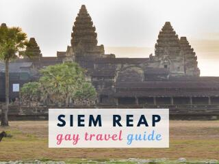 Gay travellers to Siem Reap to see Angkor Wat will find a small but fun gay scene to check out