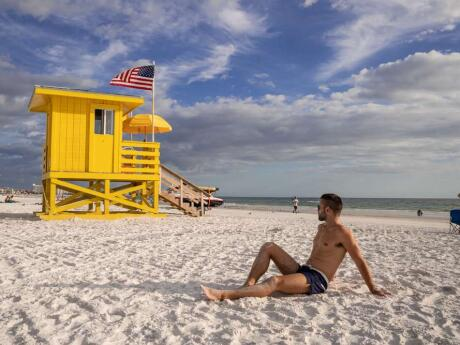 Siesta Key is a beautiful and gay friendly beach in Sarasota that we loved