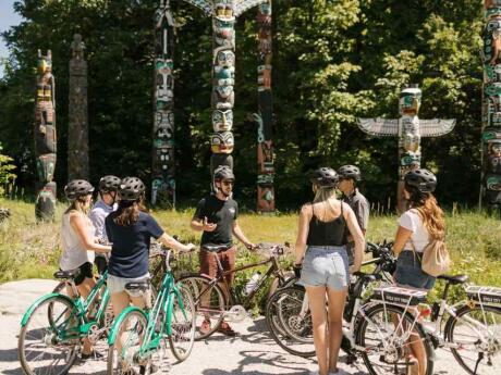 Stanley Park in Vancouver is huge, and the perfect spot for some cycling and exploration