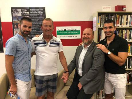 The Stonewall National Museum in Fort Lauderdale is a fascinating spot to learn about gay culture around the world and throughout history