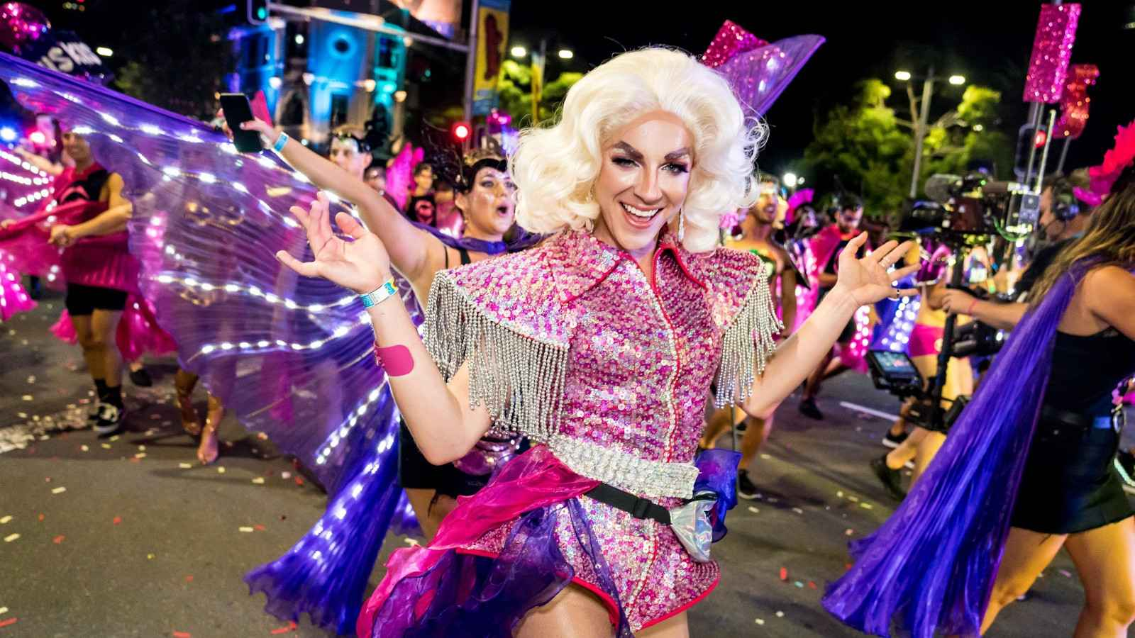 Sydney gay mardi gras is one of the biggest gay events in the world