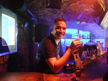 United Café (aka L'UC) is the oldest gay club in Lyon with lots of fun themed nights
