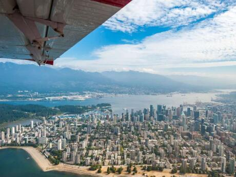 See Vancouver from above on an exhilarating seaplane flight