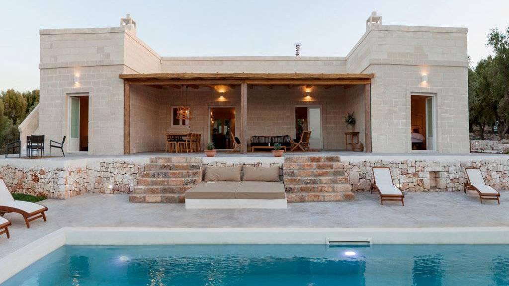 Villa Margareta é uma linda casa de fazenda italiana rústica com toques de luxo