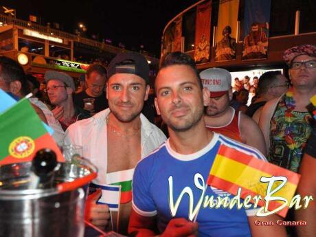 Wunderbar is a gay bar that has special Eurovision nights playing all the classics