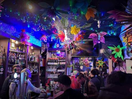 XS is a small and personable gay bar in Lyon where the city's fabulous bear boys hang out