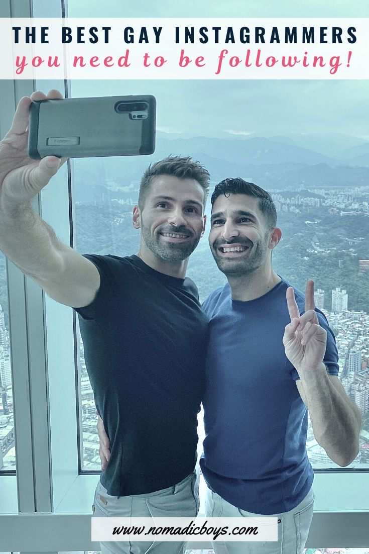 These are all our favourite gay Instagrammers we think others should follow as well!