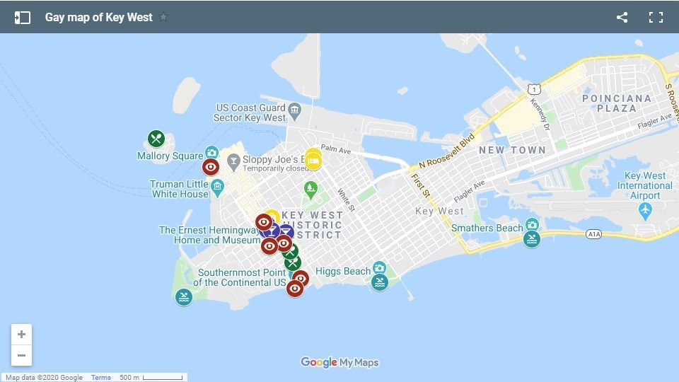 Check out our gay map of Key West for all the best places for gay travellers to stay, eat, party and more
