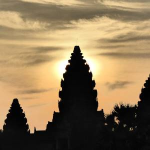 Seeing Angkor Wat at sunrise is one of the must-do activities in Siem Reap