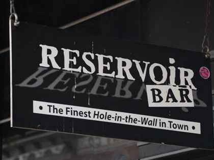 Reservoir is a low-key hole-in-the-wall gay bar in Tampa that's great to visit on Sundays