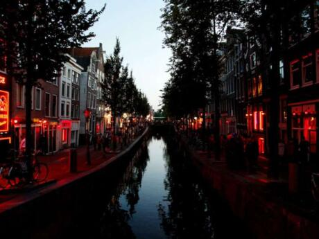 Amsterdam's infamous Red Light District is a fascinating spot to explore
