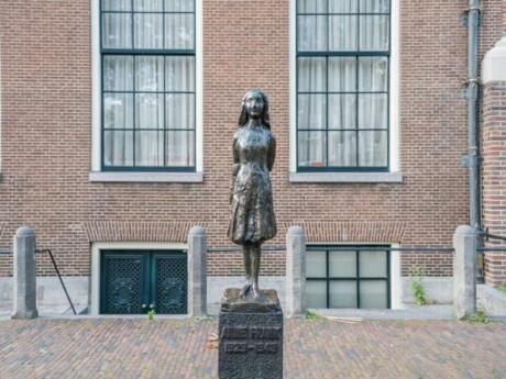 Learn about Anne Frank in Amsterdam by joining a tour and/or visiting the Anne Frank House museum