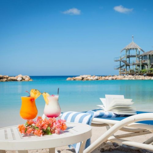 Avila Beach Hotel is a divine spot to stay right by the water on the Caribbean island of Curacao