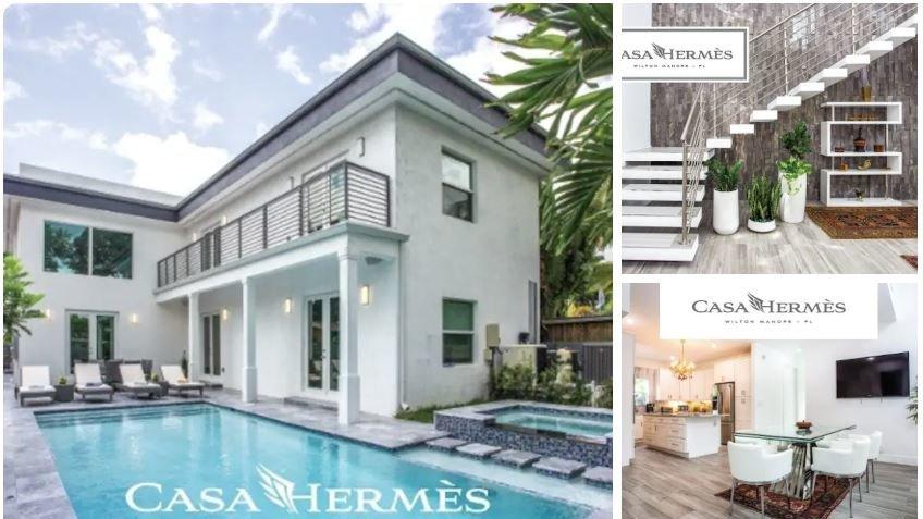 Casa Hermes é uma incrível pousada gay no Airbnb, onde você pode ficar no coração da cena gay de Fort Lauderdale