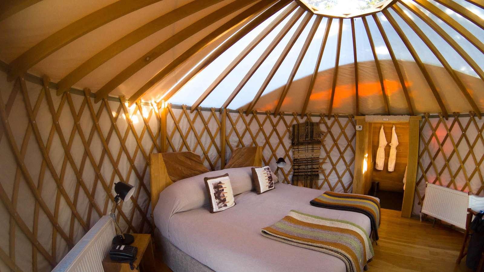 O Chile Patagonia Camp não é exatamente um hotel, mas é um lugar incrível para ficar.
