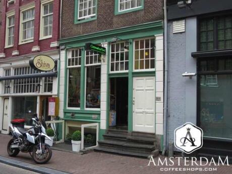 Free I é uma cafeteria em Amsterdã com uma sala de fumo no porão e uma área tiki divertida no andar de cima